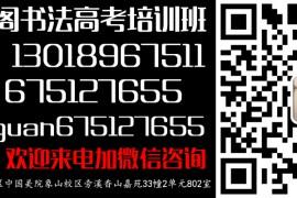 杭州望崖阁书法培训工作室(高考书法培训班)