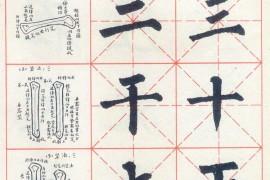 柳公权玄秘塔碑神策军碑楷书习字教范:第一章 笔画